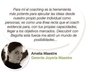 Testimonio de Amelia Maestre - Gerente Joyería Maestre