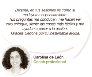 Testimonio de Carolina de León - Coach profesional