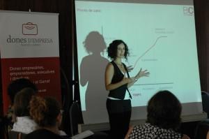 Sesión formativa sobre Estrategias y Recursos para liderar el cambio, organizado por Dones d'Empresa
